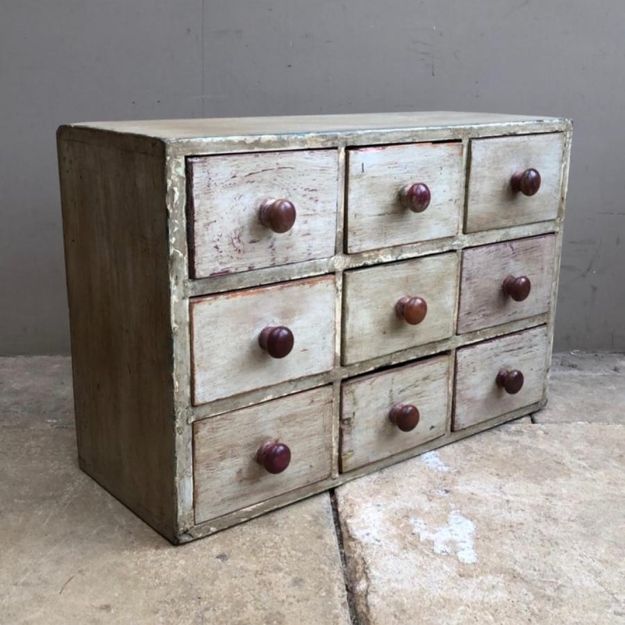 Banks of Drawers & Chest of Drawers