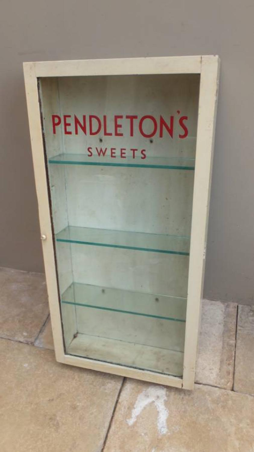 Early 20th Century Advertising Cupboard - Pendletons Sweets