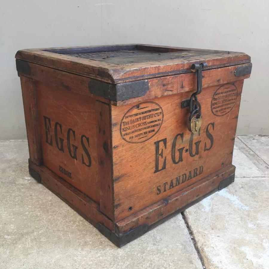 1920s Travelling Eggs Box - The Dairy Outfit Co Ltd