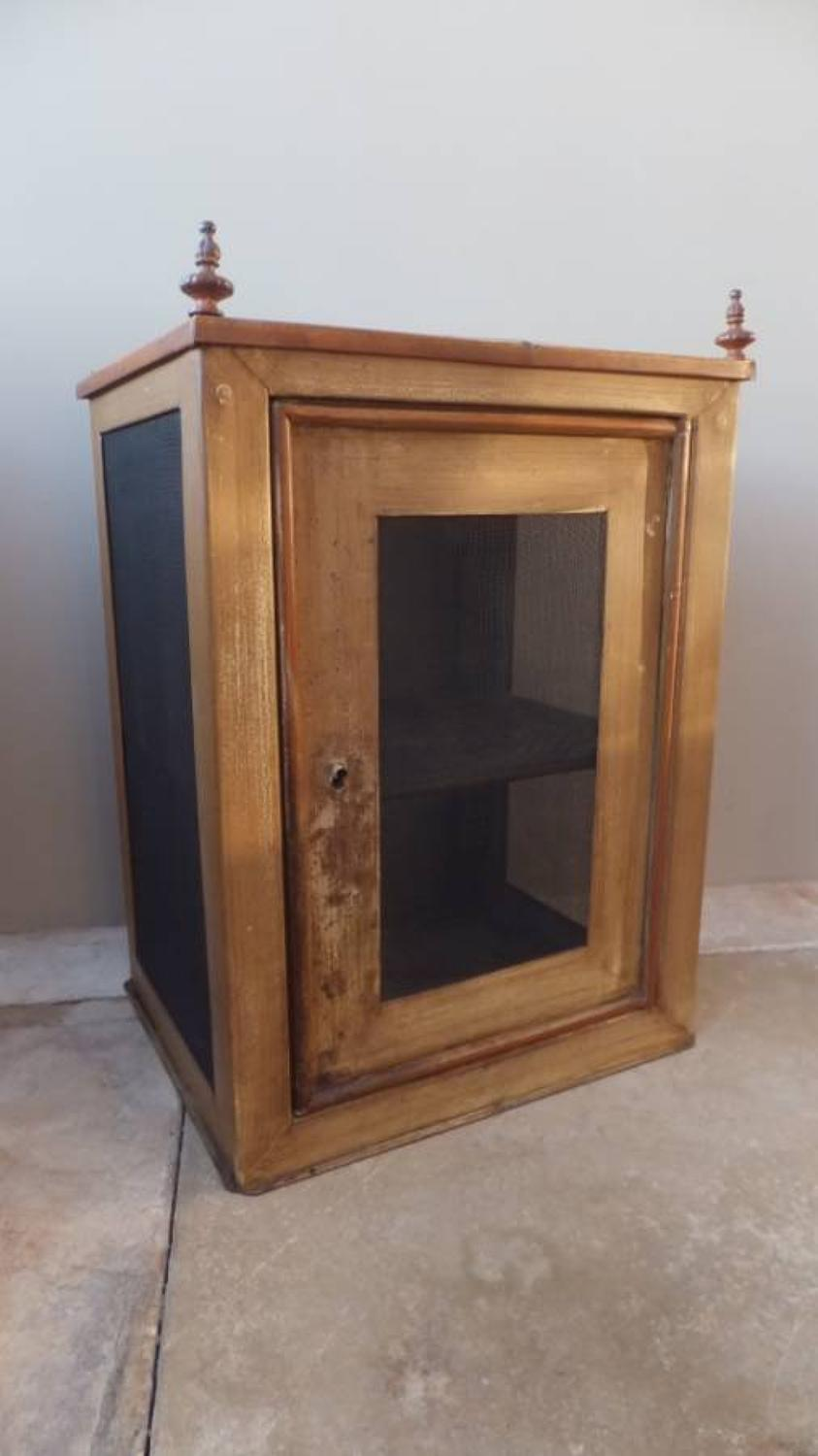 Rare Victorian Toleware Food Safe in Its Original Paint