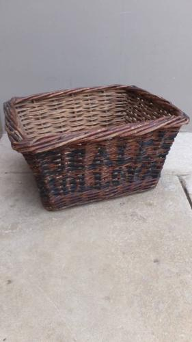 1920s Advertising Shop Basket - Beale`s Holloway