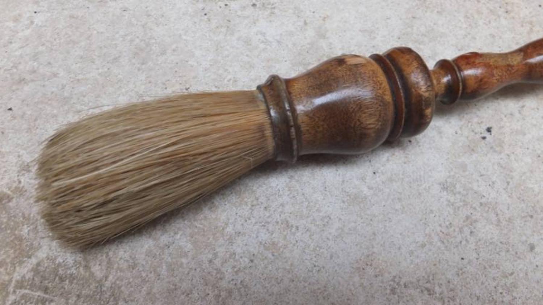 Victorian Treen Pastry Brush