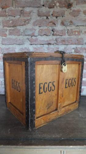 Superb Large 8 Dozen Egg Box - McFarlane Glasgow