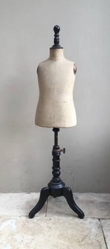 Rare Size - Edwardian Young Childs Mannequin - Stockman Paris
