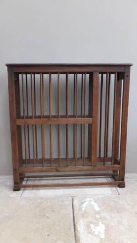 Late Victorian Pine Plate Rack