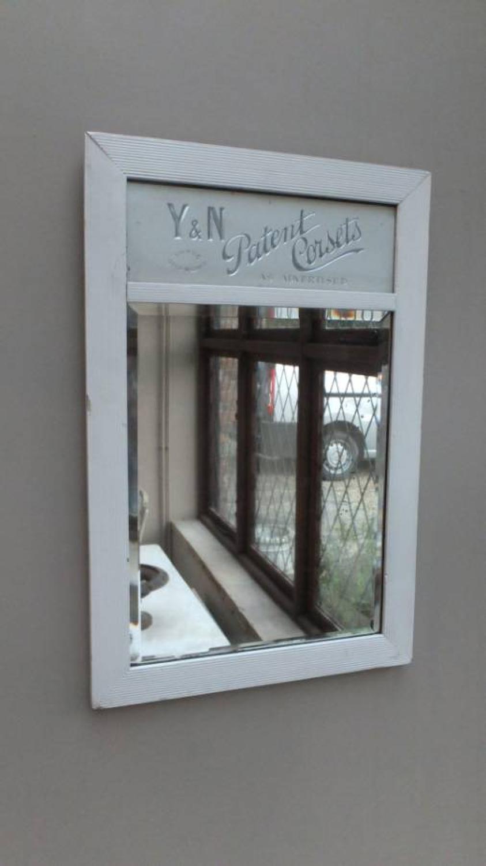 Edwardian Advertising Mirror - Y&N Patent Corsets