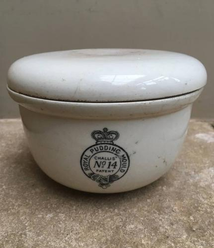 Rare Edwardian Royal Pudding Mould No.14 - Complete