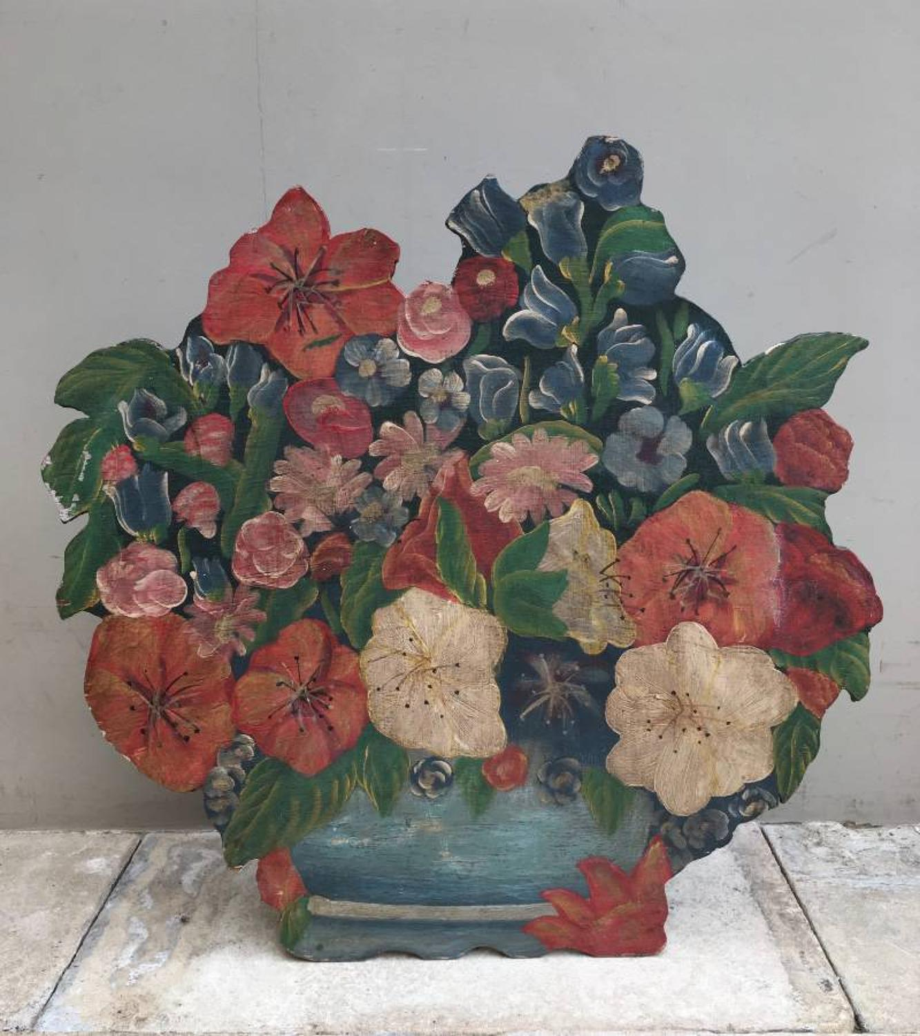 1930s Floral Dummy Board