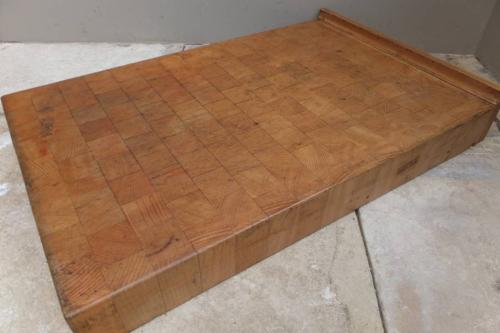 Heavy Butchers Counter Chopping Block