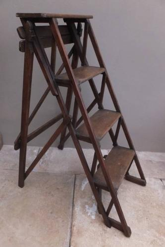 Edwardian Eclipse Household Stepladder