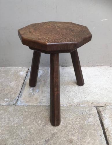 Victorian Oak Milking Stool