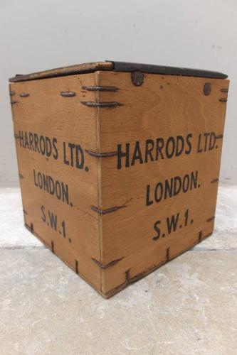 Collectable Harrods Tea Box - 1920