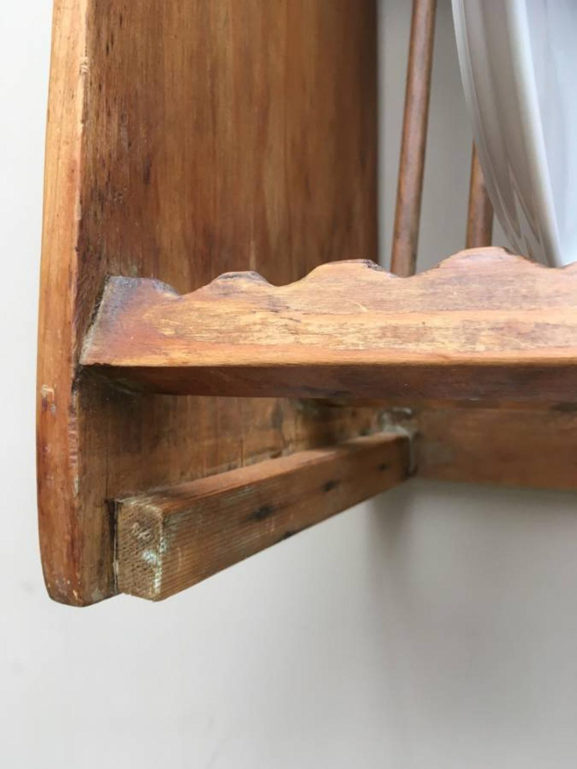 ... Late Victorian Stripped Pine Plate Rack with Top Cup u0026 Saucers Racks - picture 4 ... & Late Victorian Stripped Pine Plate Rack with Top Cup u0026 Saucers Racks ...