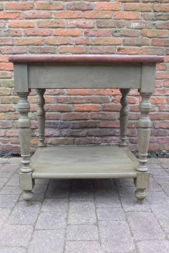 Victorian Pine Drapers Table - Fantastic Chopping Table - Centre Piece