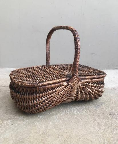 Late Victorian Childs Basket