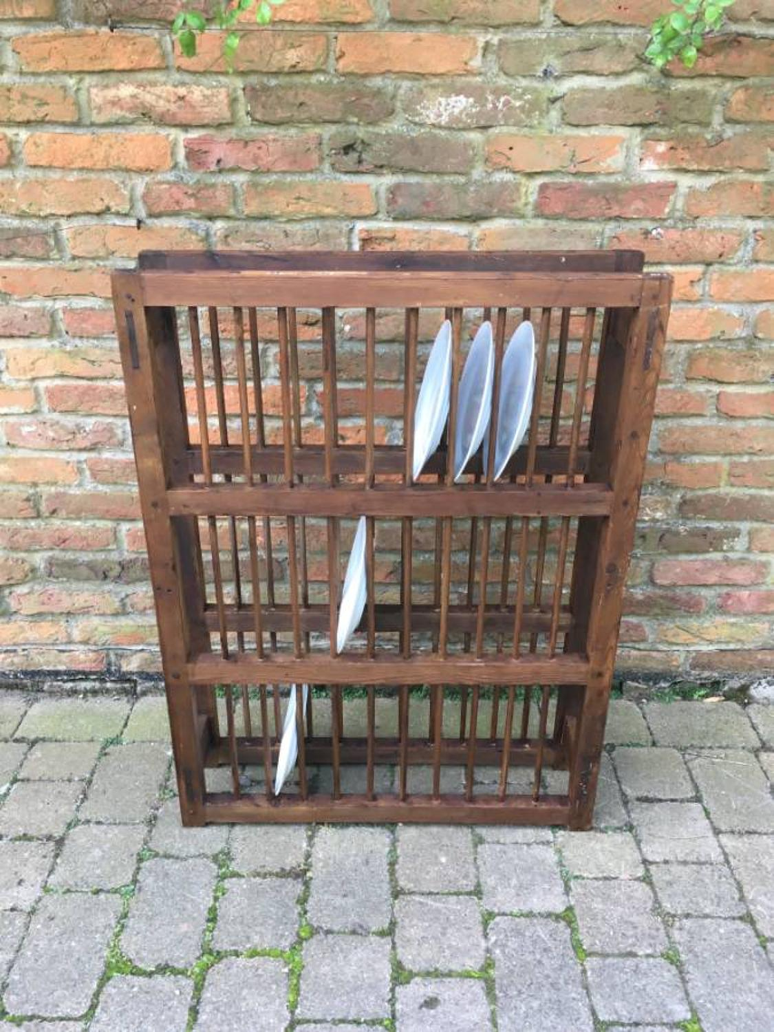... Large Early Victorian Pine Three Tier Plate Rack - picture 3 ... & Large Early Victorian Pine Three Tier Plate Rack in Furniture ...