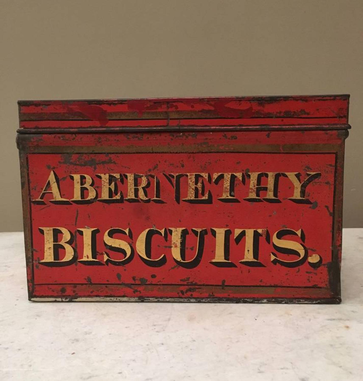 Georgian Shops Toleware Tin - Abernathy Biscuits