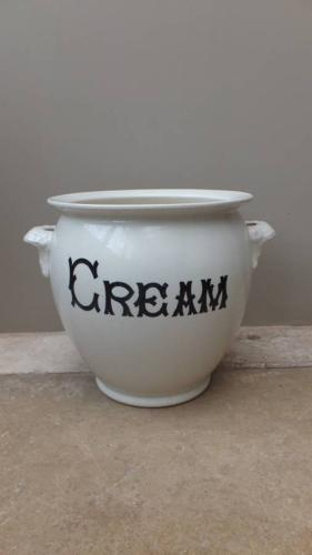 Rare Edwardian Cream Pail - Dairy Supply Company