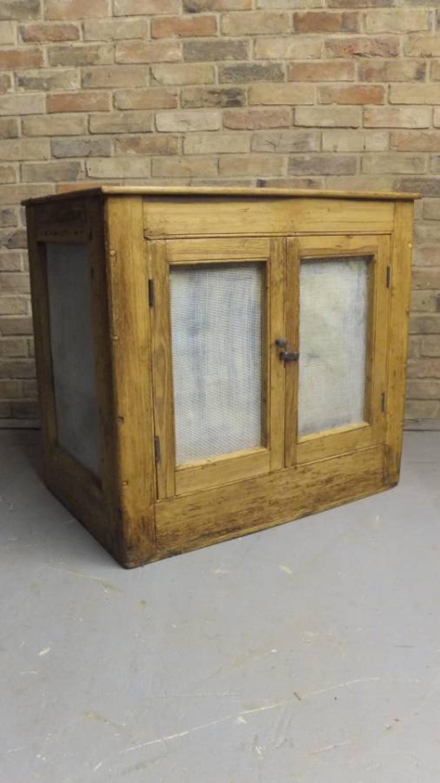 Large Mid Victorian All Original Pine Food Safe