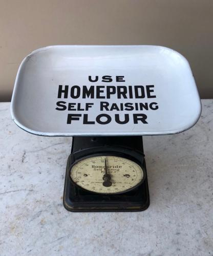 Antique Homepride Advertising Kitchen Scales
