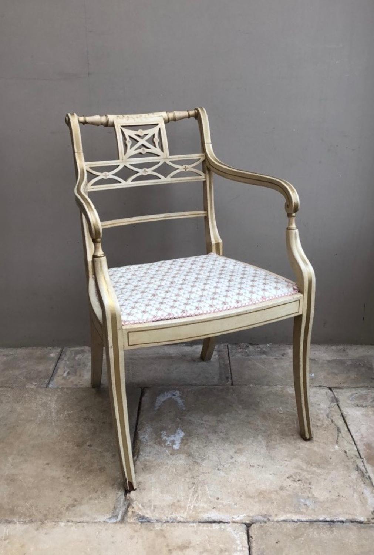 1940s Decorative Chair in Original Paint