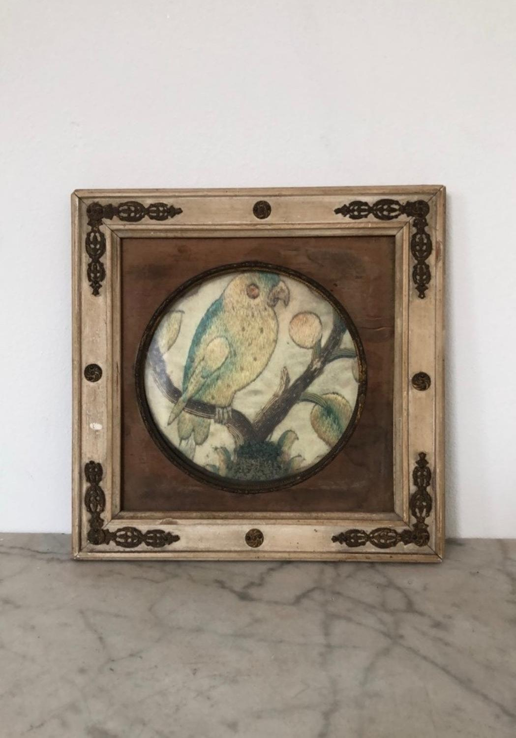 Victorian Wood & Gesso Frame