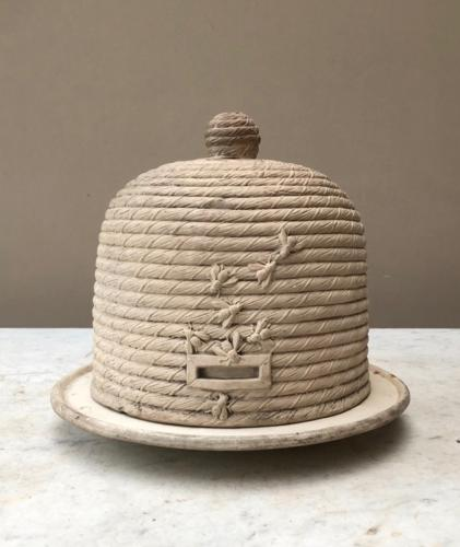 Super Rare Early Victorian Cheese Dome Shaped as a Bee Hive