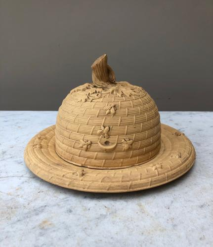Small Victorian Dome on Stand - Shaped as a Bee Hive