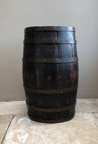 Late Victorian Coopered Oak Barrel - Perfect Stick Umbrella Stand