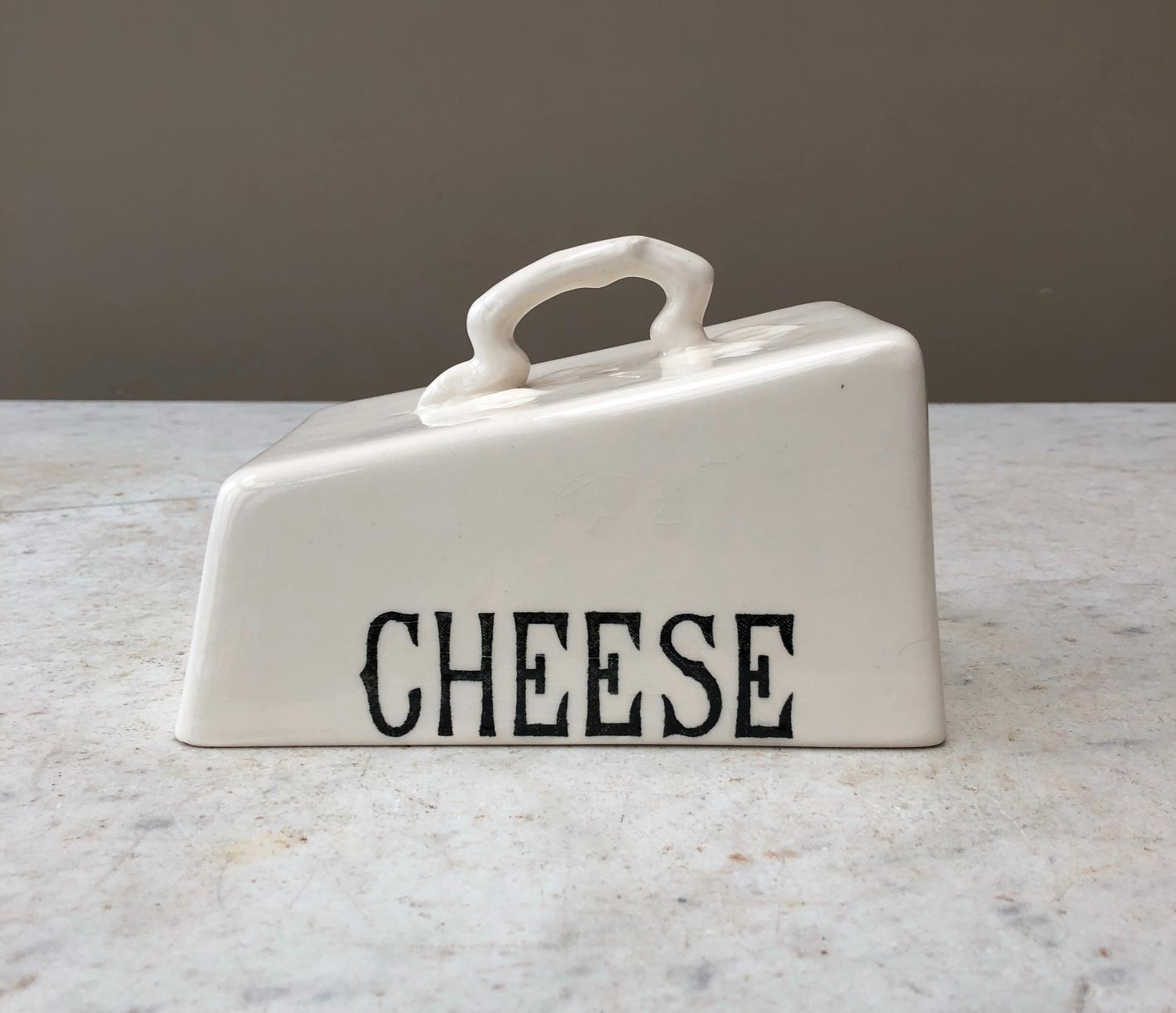 1940s Ironstone Cheese Cover