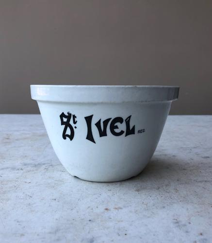 Early 20th Century Advertising Pudding Bowl - St Ivel