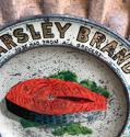 1920s Shops Advertising Change Tray - Parsley Brand Salmon - picture 2