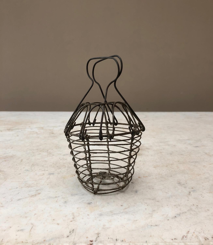 Antique Wire Work Garlic Basket - Washer