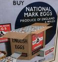 1940s Advert - Buy National Mark Eggs. Ministry of Agriculture & Fishe - picture 3
