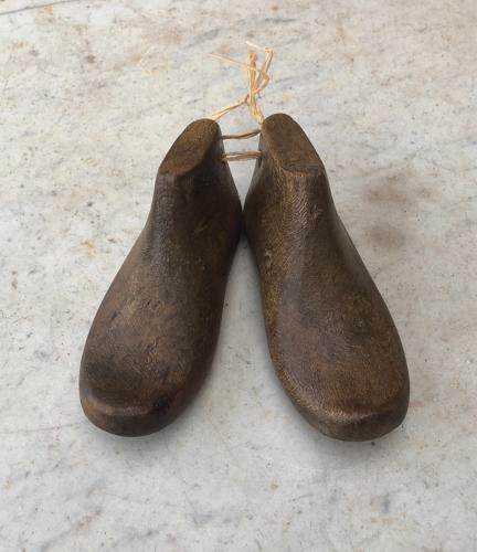 Early 20th Century Toddlers Wooden Shoe Lasts