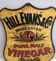 1920s Shops Tin Advertising Sign - Hill Evans & Co Pure Malt Vinegar - picture 3