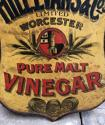 1920s Shops Tin Advertising Sign - Hill Evans & Co Pure Malt Vinegar - picture 4