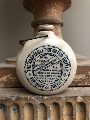 Late Victorian Muff or Pocket Warmer