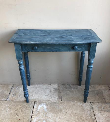 Victorian Pine Side Table - Fantastic Paint