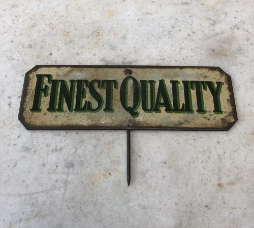 Edwardian Grocers Sign - Finest Quality