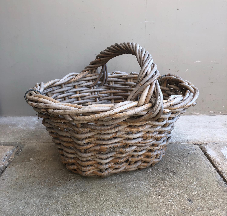 Antique Norfolk Potato Basket in Superb Condition