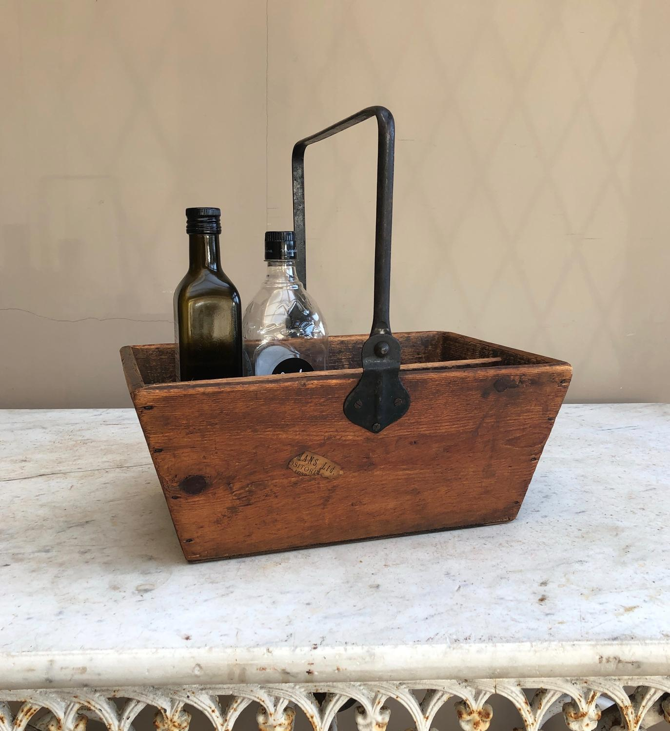 Antique Pine Kitchen Trug