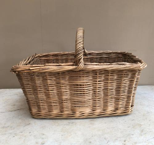 Early 20th Century Large Bakers Basket