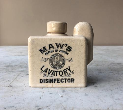 Perfect Condition Edwardian Maws Lavatory Disinfector