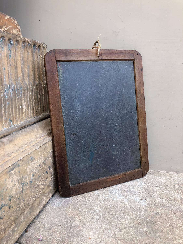 Antique School Slate - Memo Board
