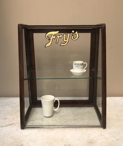 1930s Shops Glass Display Cabinet - FRYS