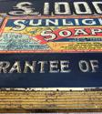 Rare Early 20th Century Tin Advertising Sign - Sunlight Soap - picture 4