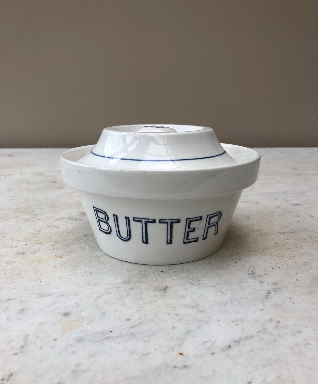Edwardian Butter Dish