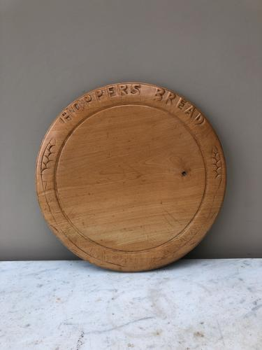 Rare Advertising Bread Board - Hoppers Bread