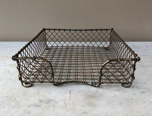 Early 20th Century Quality Brass Desk Tidy